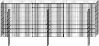 Bellissa Limes Mauersystem Anbausatz 112 x 120 x 23 cm