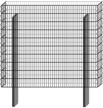 Bellissa Paravento Grundbausatz BP-2 BxH: 117,8 x 100,5 cm