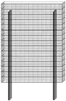 Bellissa Paravento Grundbausatz BP-3 BxH: 117,8 x 151 cm