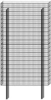 Bellissa Paravento Grundbausatz BP-4 BxH: 117,8 x 201 cm