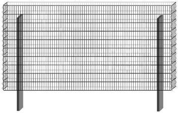 Bellissa Paravento Grundbausatz BP-8 BxH: 197,8 x 100,5 cm