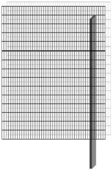 Bellissa Paravento Erweiterungsbausatz BP-E3 BxH: 117,8 x 151 cm