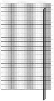 Bellissa Paravento Erweiterungsbausatz BP-E4 BxH: 117,8 x 201 cm
