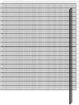 Bellissa Paravento Erweiterungsbausatz BP-E6 BxH: 177,8 x 201 cm