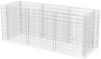 VidaXL Gabionen-Pflanzkorb 270 x 90 x 100 cm
