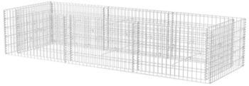 VidaXL Gabionen-Pflanzkorb 270 x 90 x 50 cm