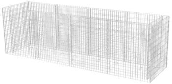 vidaXL Gabionen-Pflanzkorb 360 x 90 x 100 cm