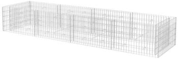 VidaXL Gabionen-Pflanzkorb 360 x 90 x 50 cm