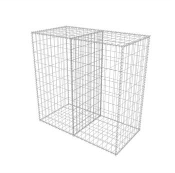 VidaXL Gabionenkorb Stahl 100 x 50 x 100 cm