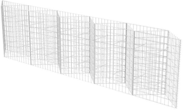 VidaXL Gabionenkorb/ Pflanzkasten 330 x 30 x 100 cm