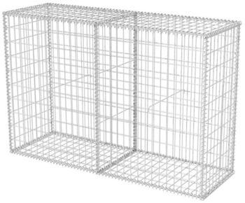 VidaXL Gabionenkorb Stahl 150 x 50 x 100 cm
