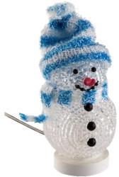 Goobay USB Mini-Schneemann blau