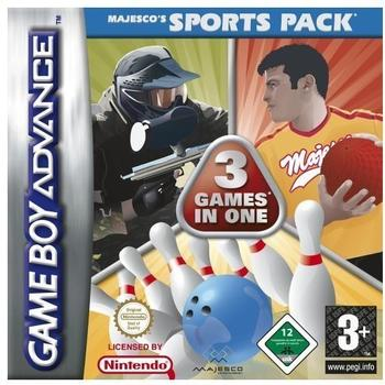 3 Games in 1 - Majescos Sports Pack (GBA)