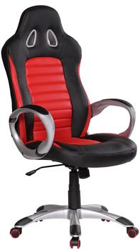 Amstyle Racer Chefsessel rot