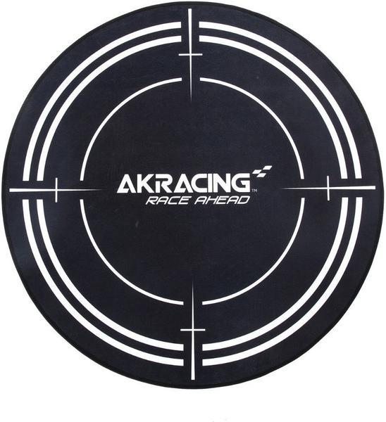 AKRACING Bodenmatte schwarz