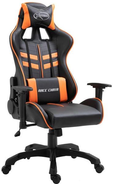 vidaXL Gaming Chair PU Orange (20198)
