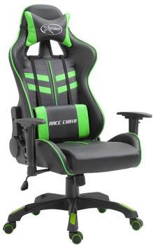 vidaXL Gaming Chair PU Green (20195)