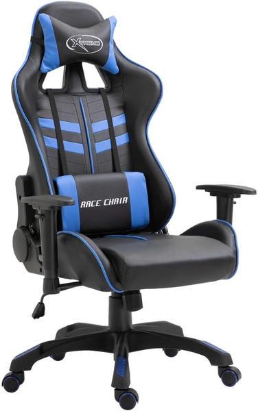 vidaXL Gaming Chair PU Blue (20192)