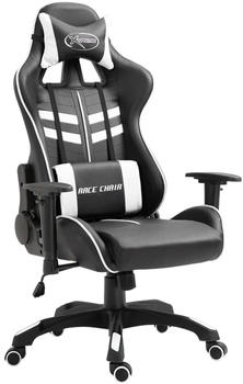 vidaXL Gaming Chair PU White (20197)