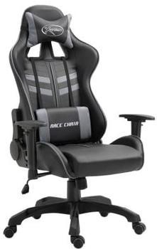 vidaXL Gaming Chair PU Gray (20196)