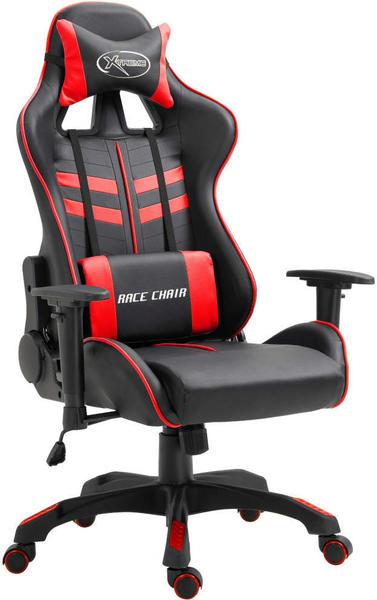 vidaXL Gaming Chair PU Red (20193)