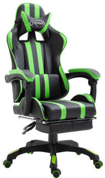 vidaxl-gaming-chair-pu-with-footrest-green-20219