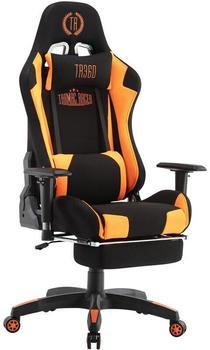 CLP Turbo LED Stoff schwarz/orange
