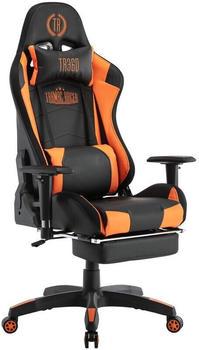 CLP Turbo LED Kunstleder schwarz/orange