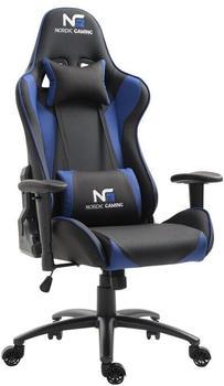 Nordic Gaming Racer (schwarz blau)