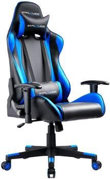 GTPlayer Gaming Stuhl DE-GTP002-Blue