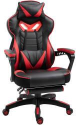 Vinsetto Gaming-Stuhl 65 x 70 x 118,5-126,5 cm schwarz rot (921-237RD)