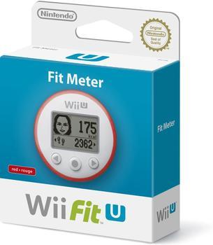Nintendo Wii Fit U Fit Meter rot
