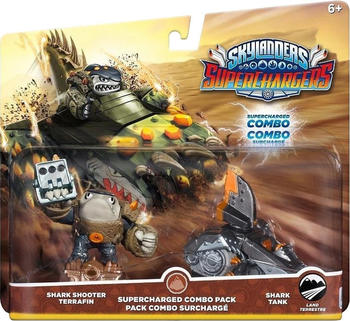 Activision Skylanders: Superchargers - Supercharged Combo Pack - Shark Shooter Terrafin + Shark Tank