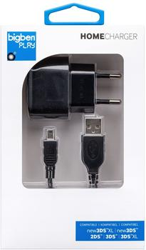 Bigben New 3DS XL Home Charger (schwarz)