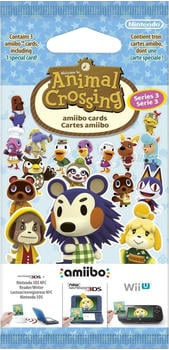 Nintendo amiibo Karten - Animal Crossing - Serie 3