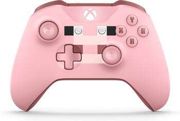 Microsoft Xbox Wireless Controller (Minecraft Pig)