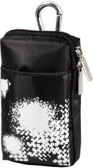 Hama PSP Go Tasche, Schwarz/Weiß