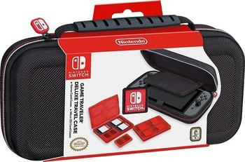 RDS Nintendo Switch Game Traveler Deluxe Travel Case schwarz (NNS40)