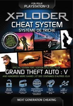 Xploder PS3 Cheat System Grand Theft Auto 5 (GTA 5)