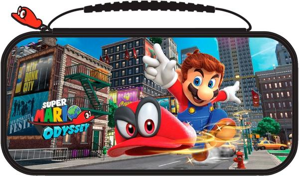 RDS Nintendo Switch Game Traveler Deluxe Travel Case Super Mario Odyssey