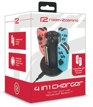 ready2gaming Nintendo Switch 4 in 1 Charger
