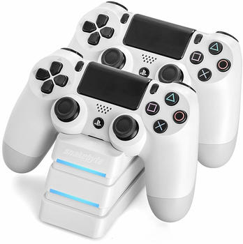 Snakebyte PS4 Twin:Charge weiß