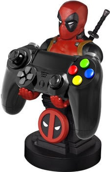 Exquisite Gaming Cable Guys - Marvel Deadpool - Phone & Controller Holder