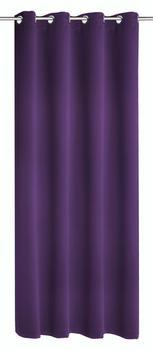 Albani Verdunkelungs-Ösenschal Mia 245x140cm lila