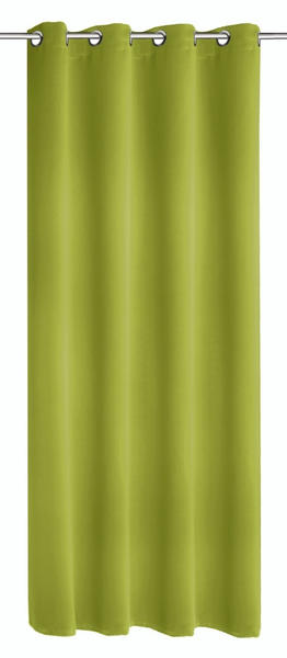 Albani Verdunkelungs-Ösenschal Mia 245x140cm grün