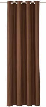 Tom Tailor Dove mit Ösen 245x140cm braun