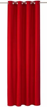 Tom Tailor Dove mit Ösen 245x140cm rot