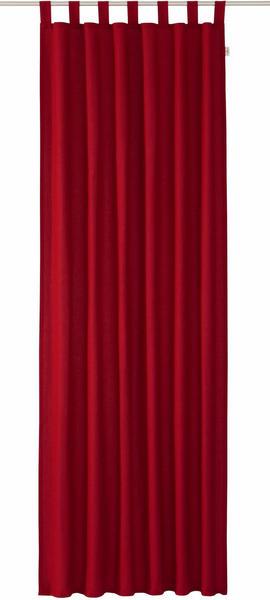 Tom Tailor Vorhang T-Dove mit Schlaufen 250x140cm dunkelrot