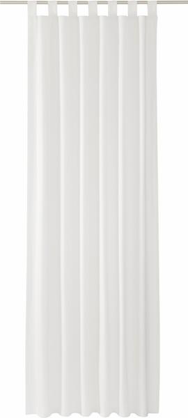 Tom Tailor Vorhang T-Dove mit Schlaufen 250x140cm weiß