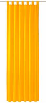 Tom Tailor Vorhang T-Dove mit Schlaufen 250x140cm gelb